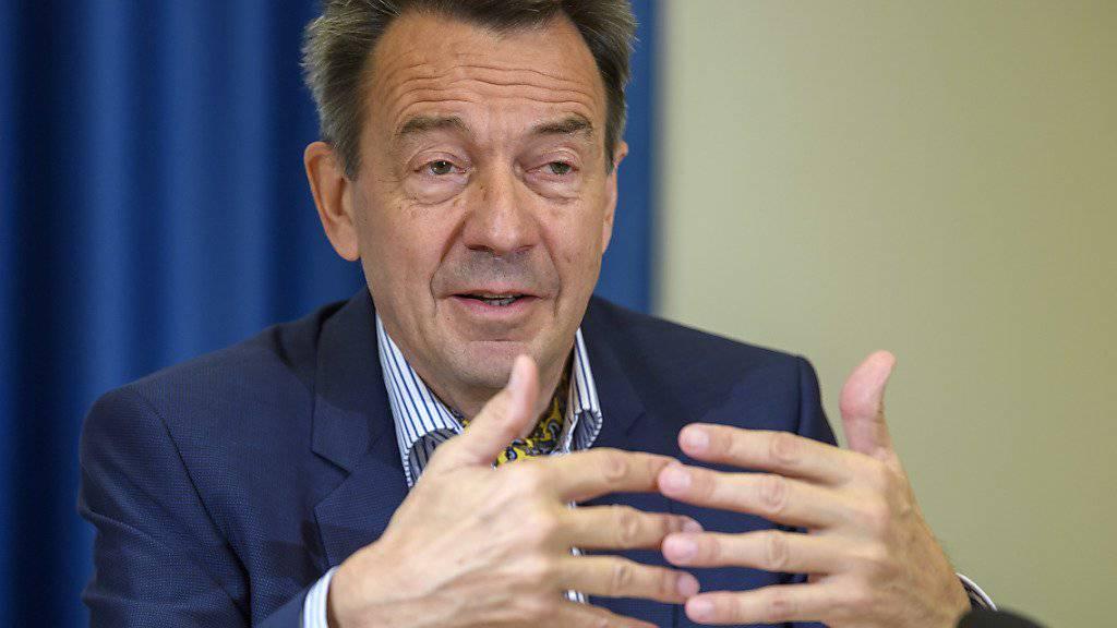 IKRK-Präsident Peter Maurer wünscht sich eine grössere finanzielle und politische Unterstützung der Schweiz für das IKRK. (Archivbild)