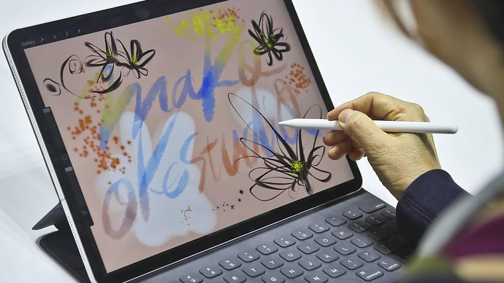 Apple dürfte am Dienstag laut Beobachtern unter anderem ein neues Modell seines hochpreisigen iPad Pro vorstellen.