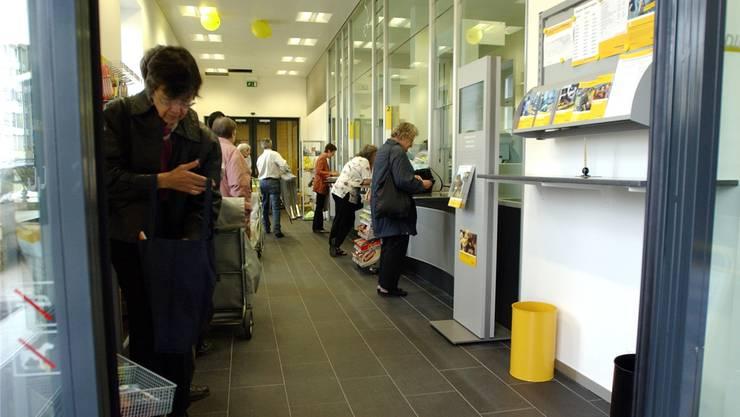 Post am Bahnhofplatz in Solothurn: Neu eingerichtet, jetzt soll sie schon wieder schliessen.