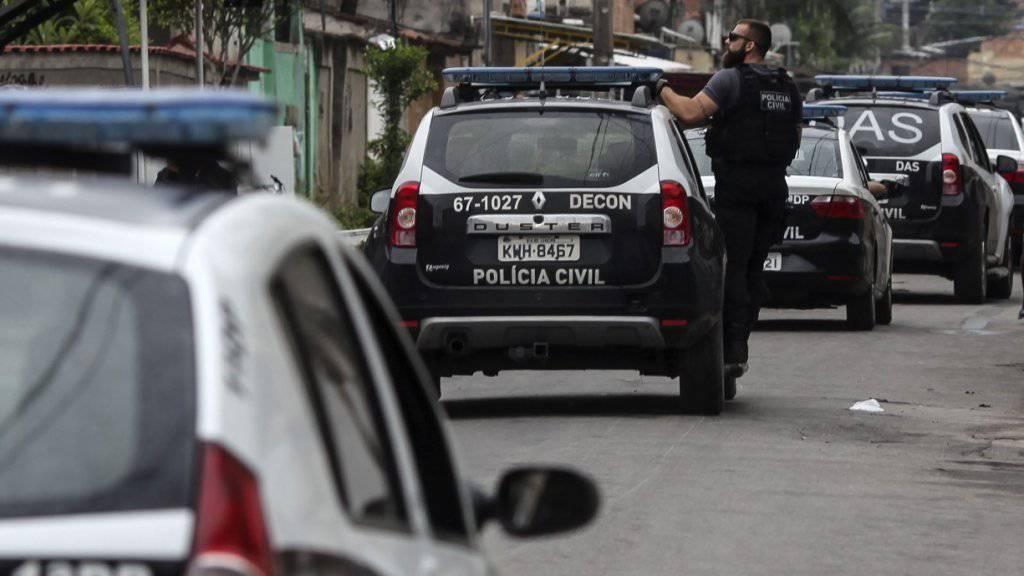 Brasilianische Polizisten im Einsatz (Symbolbild)