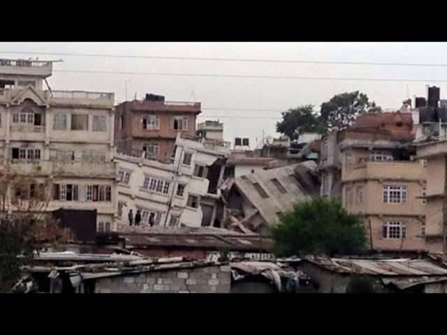 Verschiedene Überwachungskameras halten das Ausmass der Zerstörung fest