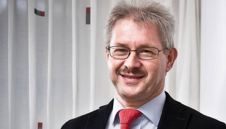 Kurt Schmid ist Präsident des Gewerbeverbands. Er lancierte die Idee einer Expo im Aargau.