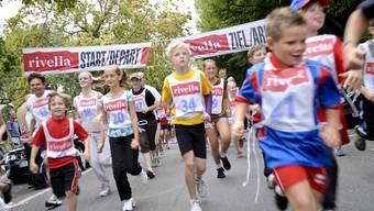 Bis an die Leistungsgrenze: Vor allem die kleinen Läuferinnen und Läufer zeigten beim Sponsorenlauf für das UKBB einen tollen Einsatz.