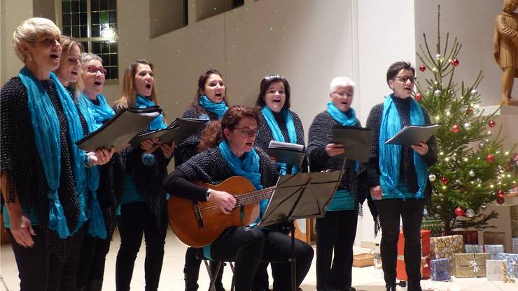 Mitreissend und wohlklingend ist der Auftritt des Frauenchors Malaikas.
