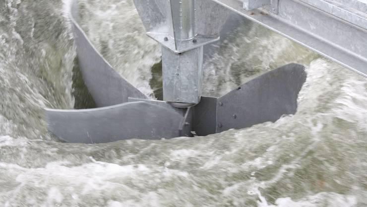 Das Wasserwirbelkraftwerk in Schöftland. (Archiv)