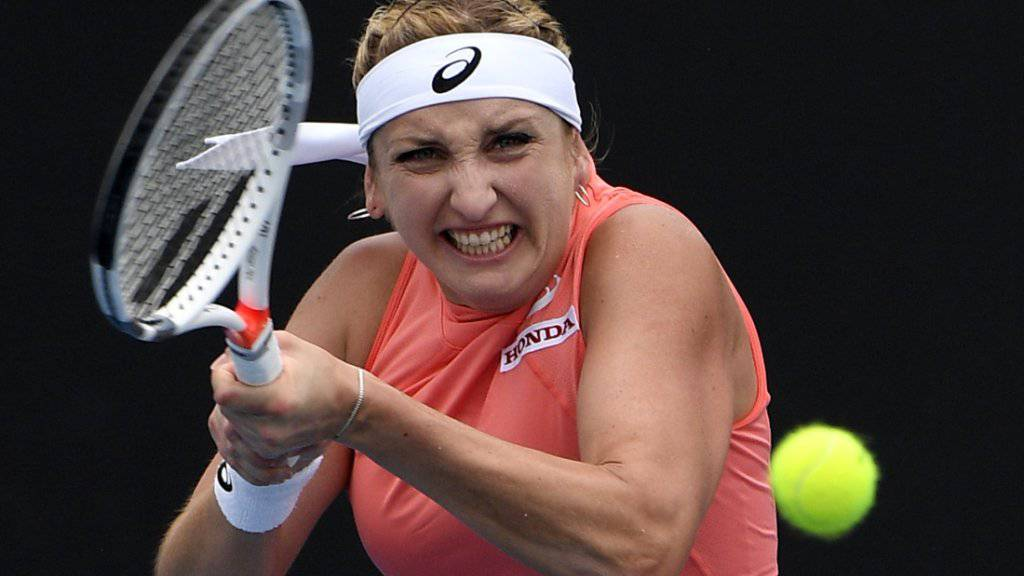 Eine brillante Leistung: Timea Bacsinszky deklassierte die Nummer 10 des Turniers