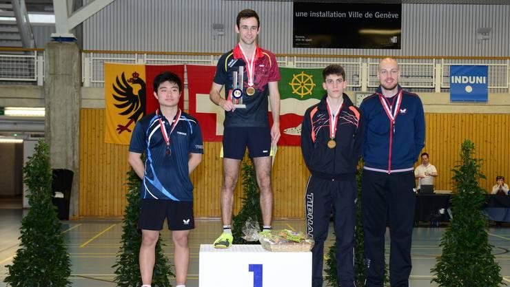 Lionel Weber kürt sich zum Schweizer Meister