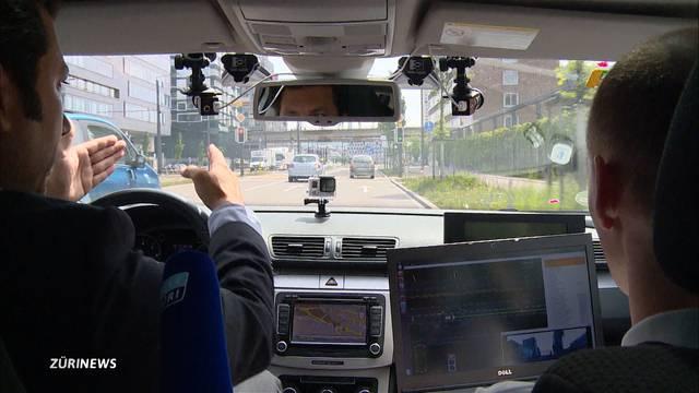 TomTom vermisst Zürcher Strassen für selbstfahrende Autos