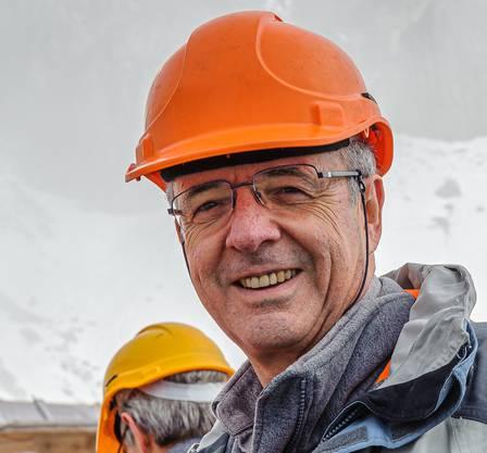 Buchautor und Fotograf Rudolf Hug.