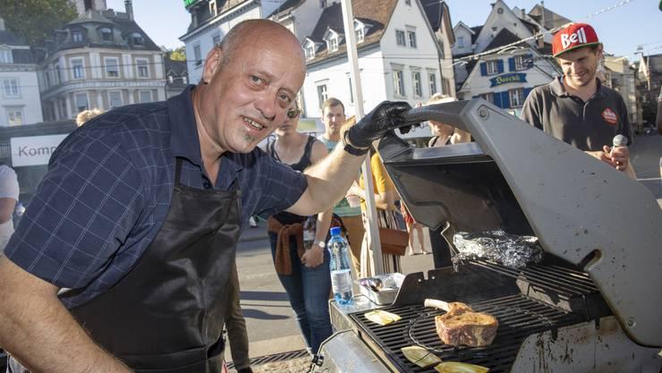 Martin Wild ist zweitbester Schweizer Grillmeister.