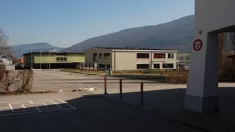 Das Oberstufenschulhaus in Matzendorf