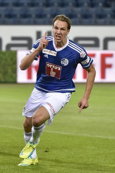 Einer der besten Luzerner: FCL-Stürmer Michi Frey.