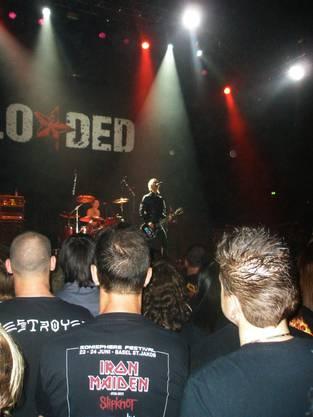 Duff McKagan eröffnete auf der Saturn Stage im Joggeli.  lsi