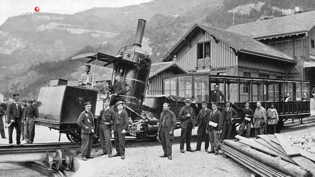 Die spezielle Geschichte der Rigi Bahn