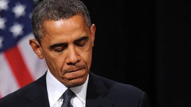 US-Präsident Barack Obama an der Trauerfeier in Newtown