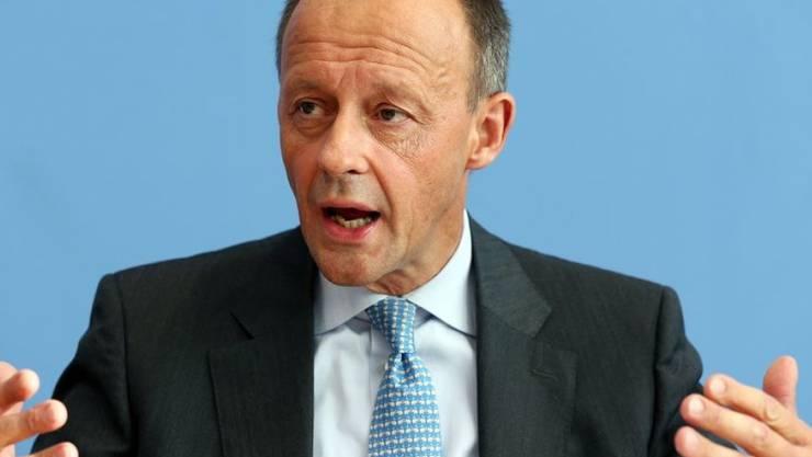 Friedrich Merz, möglicher Merkel-Nachfolger.