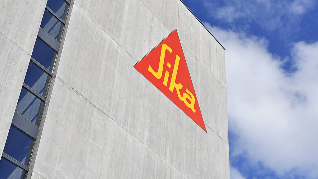 Der Bauchemiekonzern Sika ist auch dank einer Übernahme in Frankreich kräftig gewachsen. (Archivbild)