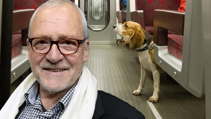 Das Hunde-GA wird abgeschafft. Der ehemalige Zürcher Stadtpräsident Elmar Ledergerber kritisiert das neue Regime scharf. (Bildmontage)