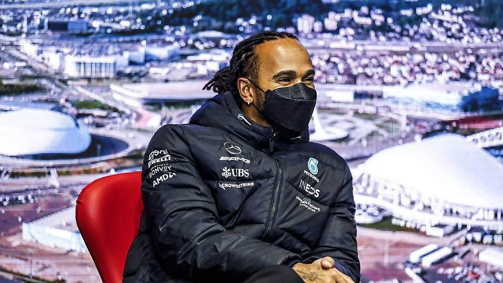 Lewis Hamilton thront über Sotschi - er hat in Russland schon vier Siege gefeiert