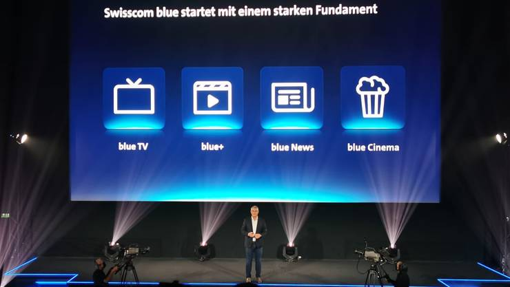 Die Swisscom nennt ihre Entertainment-Produkte um. (Zürich, 22. September 2020).