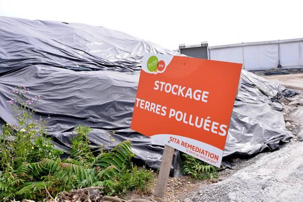 Der kontaminierte Boden muss saniert werden, giftige Chemierückstände befinden sich darin.