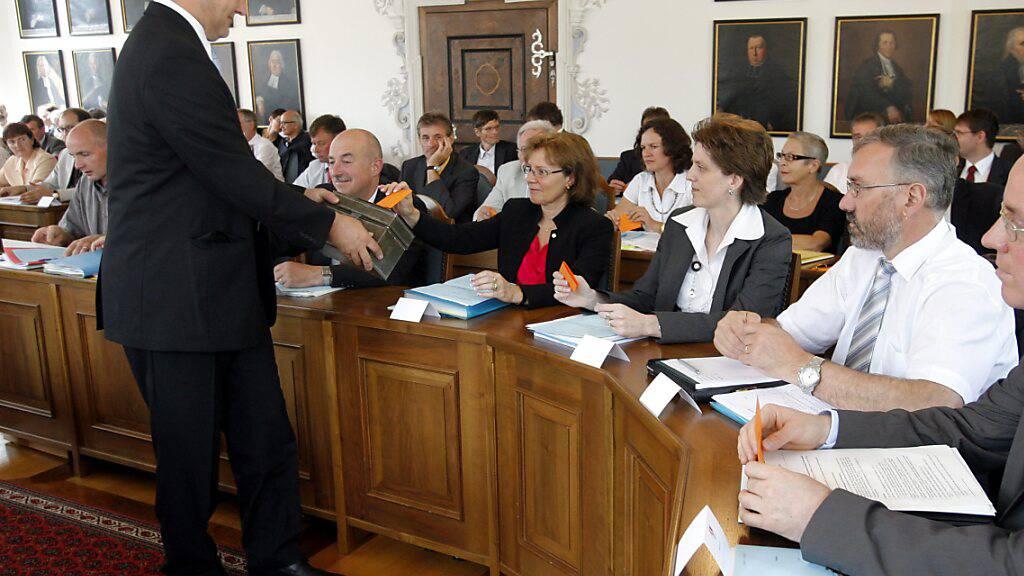Obwaldner Parlament steht einer Abstimmungsanlage offen gegenüber