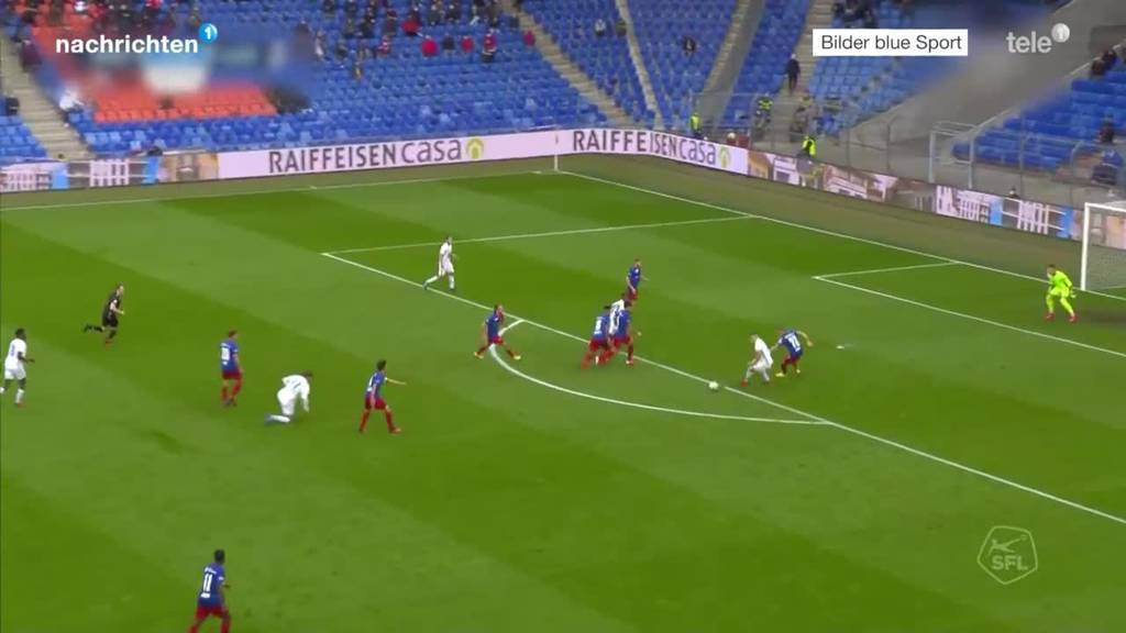 Der FC Luzern verliert 2:3 gegen Basel