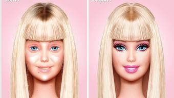 Barbie ungeschminkt
