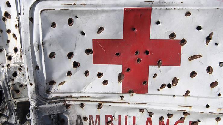 Die Genfer Konventionen verbieten Angriffe auf Einrichtungen im Gesundheitswesen. (Symbolbild)