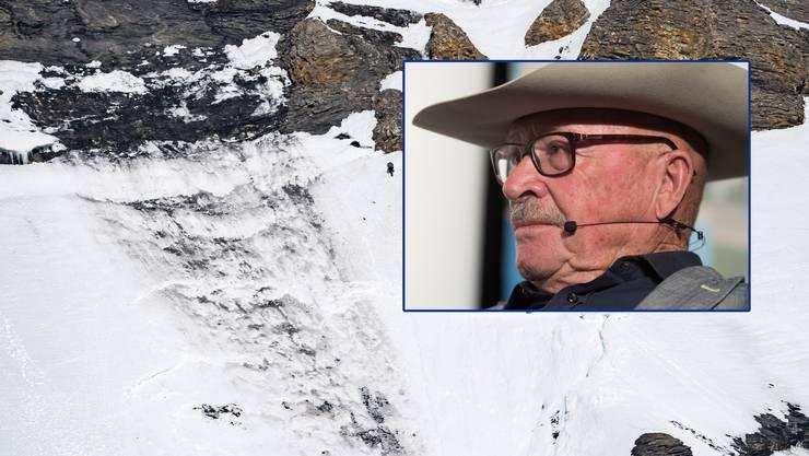Art Furrer kritisiert die Verantwortlichen des Skigebiets und das Schnee- und Lawinenforschungsinstitut.