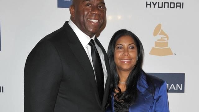 Magic Johnson und Ehefrau Cookie unterstützten ihren Sohn Earvin in seinem Outing (Archiv)
