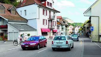 Dauerthema: Einmal mehr war die Verkehrsentlastung des Städtchens Klus im Gemeinderat ein Thema, entschieden wurde jedoch noch nichts.