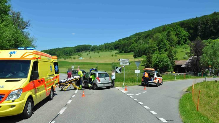 Sowohl die Rega als auch die Ambulanz waren im Einsatz.