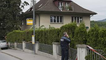 In diesem Kinderheim in Spiez wurden der Heimleiter und dessen Partnerin ermordet.