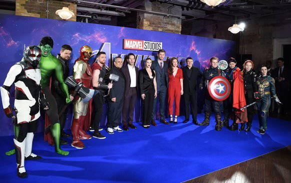 Cast und Crew des neusten Avengers-Film.