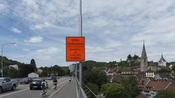 Nach fast drei Jahren Bauzeit wird die Hochbrücke ab März wieder normal befahrbar sein. (Archiv)