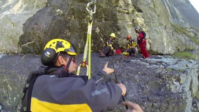 Spektakuläre Rettungsübung von «Air Glacier»