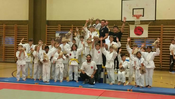 """Judokas freuen sich auf den Zustupf von """"Sport rauchfrei"""""""
