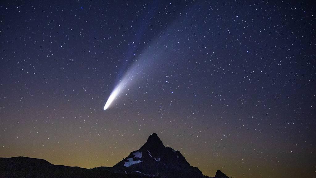 Der Komet Neowise ist weiterhin sichtbar