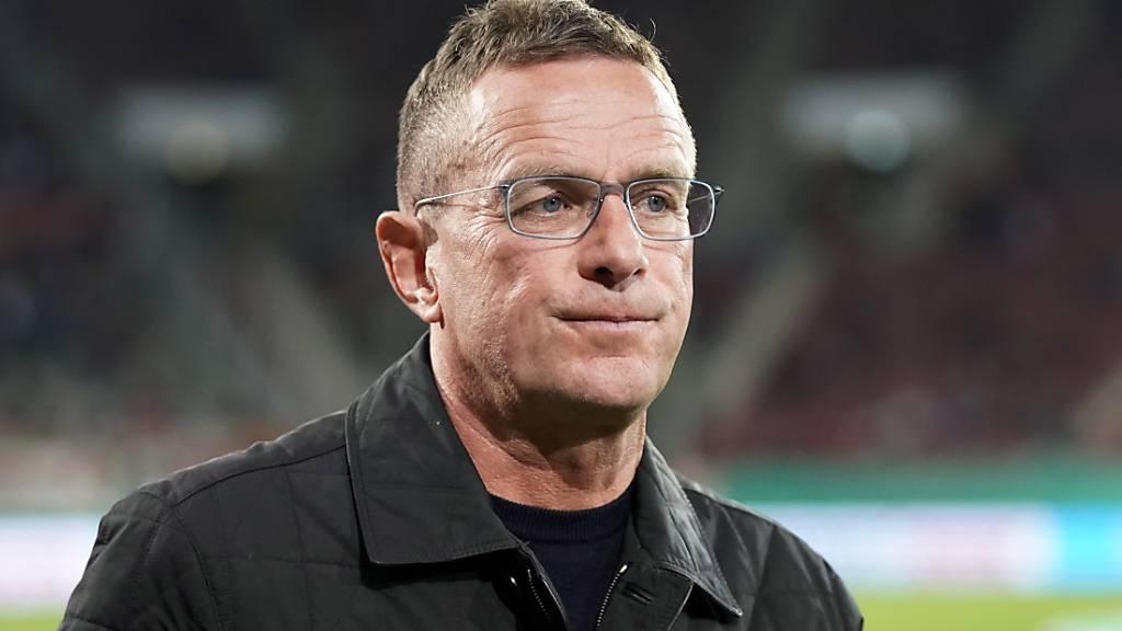 Ralf Rangnick könnte mit zwei Chargen bei Eintracht Frankfurt anfangen