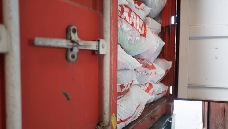 Texaid sammelt in der Schweiz jährlich etwa 36 000 Tonnen Altkleider.