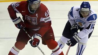 Kann sich Jaromir Jagr mit Tschechien auch gegen die USA behaupten?