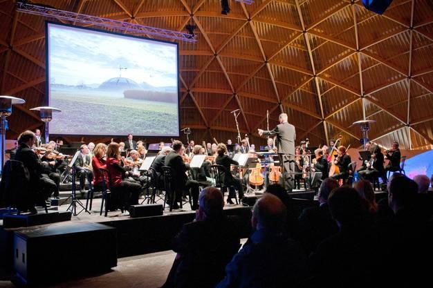 Zur Eröffnung gabs Festmusik vom Aargauer Symphonieorchester (ASO).