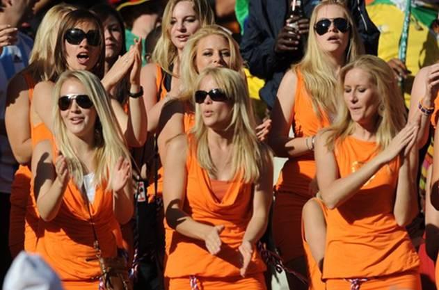 Die Holländerinnen an der WM 2010.
