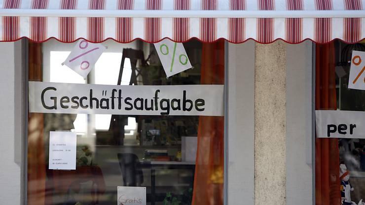 Das Aargauer Konkursamt verzeichnet bei Konkurseröffnungen einen neuen Höchststand. (Symbolbild)