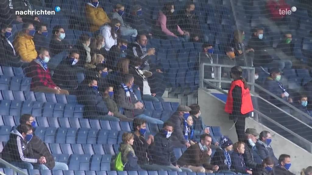FCL Heimspiel mit Zuschauern