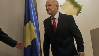 Präsident Fatmir Sejdiu bekommt Hilfe beim Aufbau seines Landes