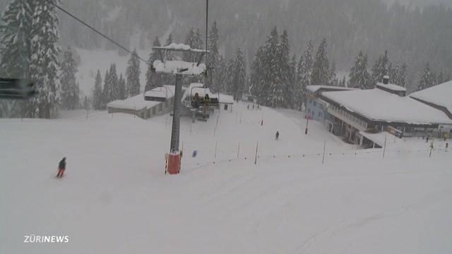 Saisonstart für Skigebiete