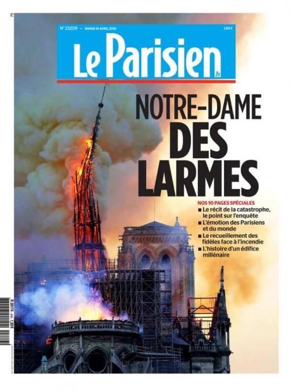 Le Parisien: «Unsere Frau der Tränen»
