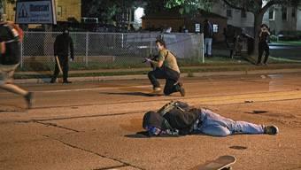 Kyle Rittenhouse, 17, Mitglied einer «Bürgerwehr», hat in Kenosha auf offener Strasse zwei Menschen getötet.
